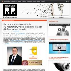 Focus sur le dictionnaire de l'E-reputation, veille et communication d'influence sur le web.