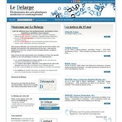 Le Delarge l Dictionnaire des arts plastiques modernes et contemporains