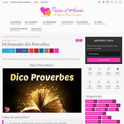 Dictionnaire des Proverbes