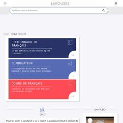 Dictionnaires Larousse français