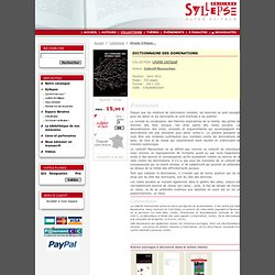 Editions Syllepse - Dictionnaire des dominations