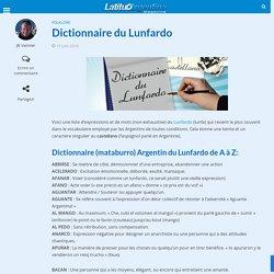 Dictionnaire du Lunfardo