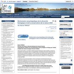 Dictionnaire encyclopédique de la diversité biologique et de la conservation de la nature 2020 - LACCRETEIL.FR