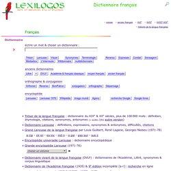 Dictionnaire français en ligne - langue française