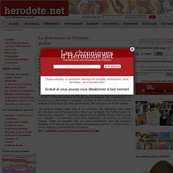 Le dictionnaire de l'Histoire - poilus - Herodote.net