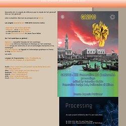 Dictionnaire critique des arts numériques. Galerie. Graphique. Geste