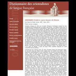 CENDRARS Frédéric Louis Sauser dit Blaise