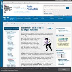 Dictionnaire québécois de la langue française