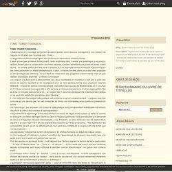 TOME -TOMER-TOMAISON.... - Dictionnaire du livre de TITIVILLUS