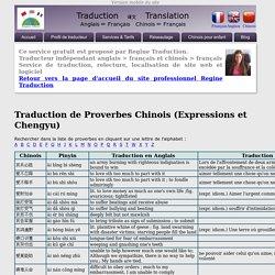 Dictionnaire des proverbes et chengyu chinois, avec traduction en pinyin, anglais et français