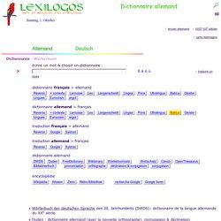 Dictionnaire allemand français, Traduction en ligne