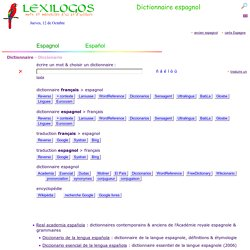 Dictionnaire espagnol français, Traduction en ligne