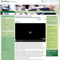 Lancement du nouveau dictionnaire en ligne Usito - Médias
