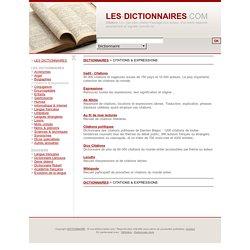 Dictionnaires des citations