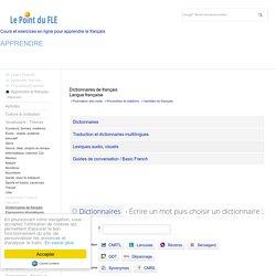 Dictionnaires de français - Langue française