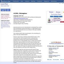 Dictogloss (all, Language)