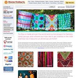 RIT Dye Brand is Saved By Tie Dye