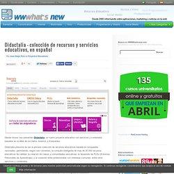 Didactalia – colección de recursos y servicios educativos, en español