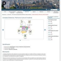 Unidades Didácticas. Patrimonio Cultural Inmaterial - Planes Nacionales Patrimonio