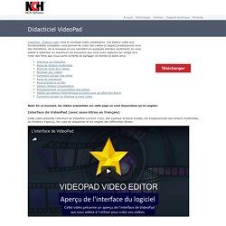 VideoPad - Didacticiel vidéo d'introduction au montage vidéo