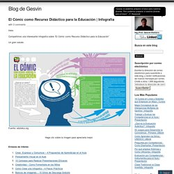 El Cómic como Recurso Didáctico para la Educación