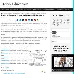 Material didáctico de apoyo a la evaluación formativa