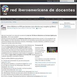 Libros didácticos en PDF para docentes (una colección muy completa 132 libros)