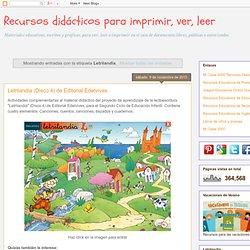 Recursos didácticos para imprimir, ver, leer: Letrilandia