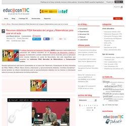 Recursos didácticos PISA liberados de Lengua y Matemáticas para usar en el aula