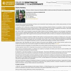 Charles Heimberg - Équipe de didactique de l'histoire et de la citoyenneté