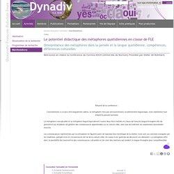 Dynadiv - Le potentiel didactique des métaphores quotidiennes en classe de FLE
