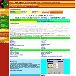 Logiciels didactiques en français et alphabétisation