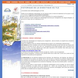 Documents Didactiques > Méthodologies FLE