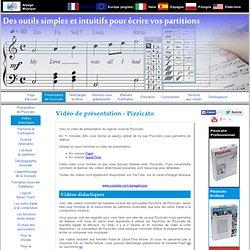 Pizzicato - Vidéos didactiques et de présentation