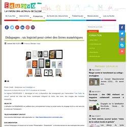 Didapages : un logiciel pour créer des livres numériques