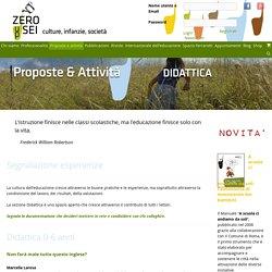 Didattica 0-6 anni – Zeroseiup