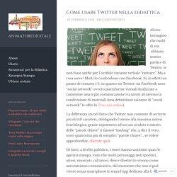 Come usare Twitter nella didattica