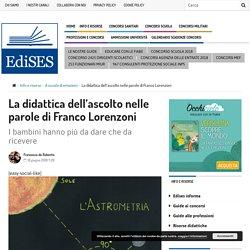 La didattica dell'ascolto nelle parole di Franco Lorenzoni