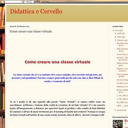 Come creare una classe virtuale