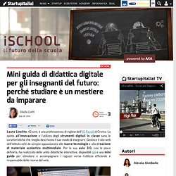Mini guida di didattica digitale per gli insegnanti del futuro