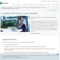 La didattica laboratoriale: esempi e modelli