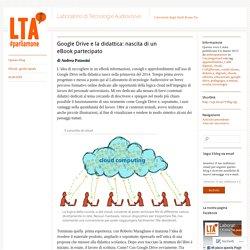 Google Drive e la didattica: nascita di un eBook partecipato