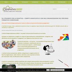 UdA nell'organizzazione del percorso formativo curricolare - Didattica