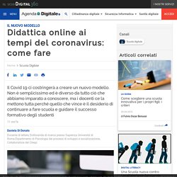 Didattica online ai tempi del coronavirus: come fare