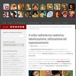 Il volto nell'arte tra realismo, idealizzazione, stilizzazione ed espressionismo