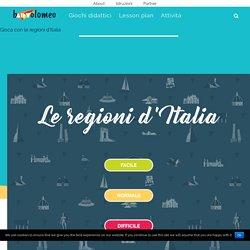 Giochi Didattici Online per Bambini - Le regioni d'Italia