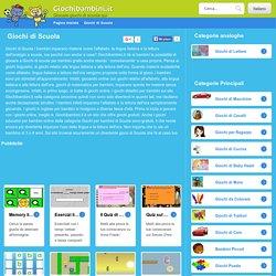 Giochi di Scuola - Giochi didattici per bambini gratis online su Giochibamini.it