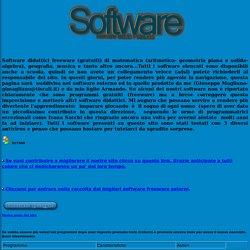 Software didattico freeware-Software gratuito per la scuola-Programmi per la didattica-