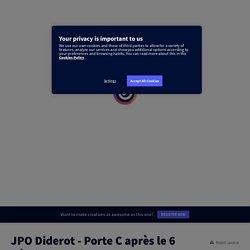 JPO Diderot - Porte C après le 6 Février