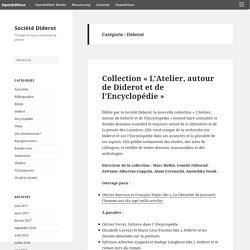 Diderot – Société Diderot